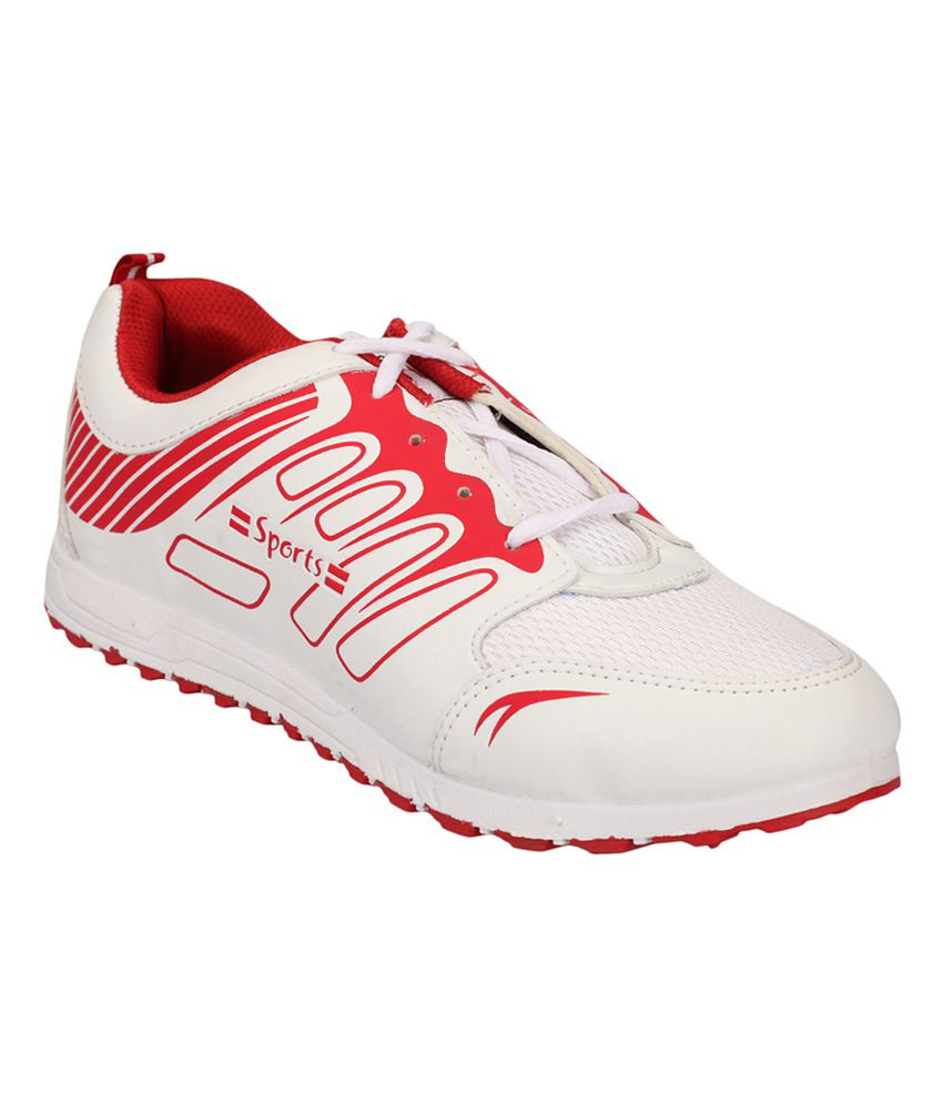 fdc2e2c11bf8f Buy Lakhani Sports White Rubber Sport Shoes on Snapdeal