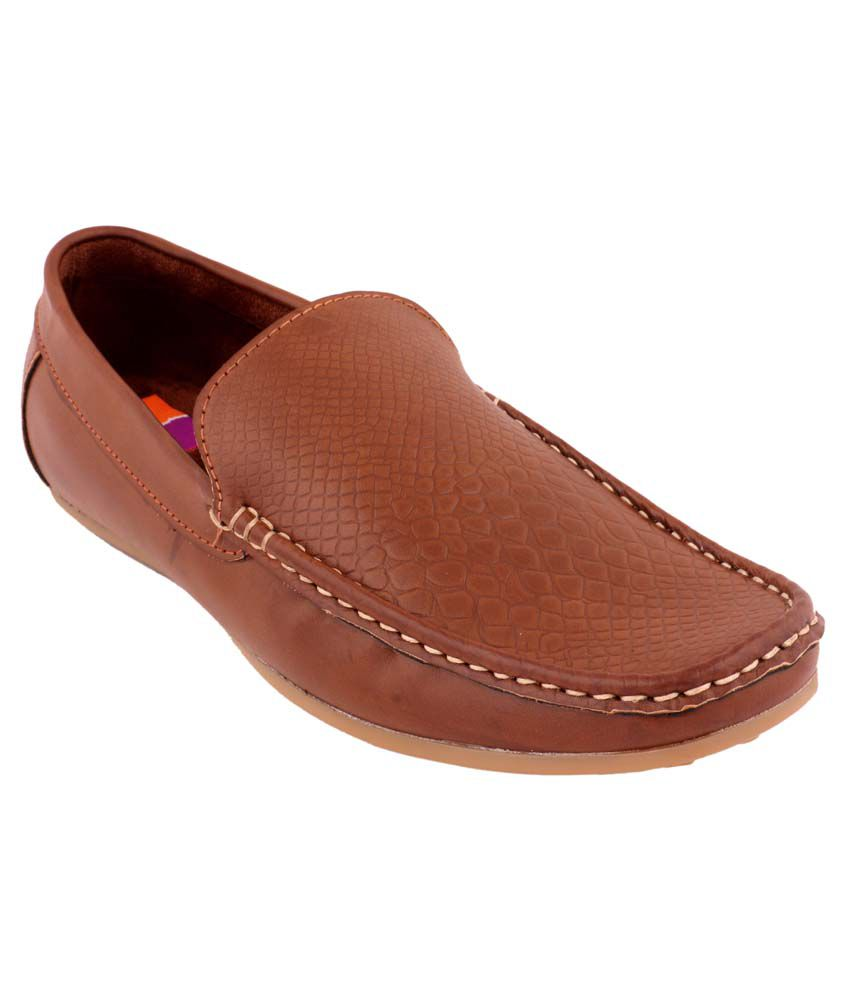 bcedc79247a1a Tycoon Beige Synthetic Leather Loafers For Men available at SnapDeal for Rs .1329