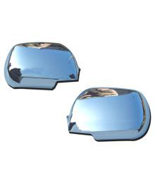 Takecare Chrome Side Mirror Cover For Mahindra Bolero 2007 Type-2 Set Of 2