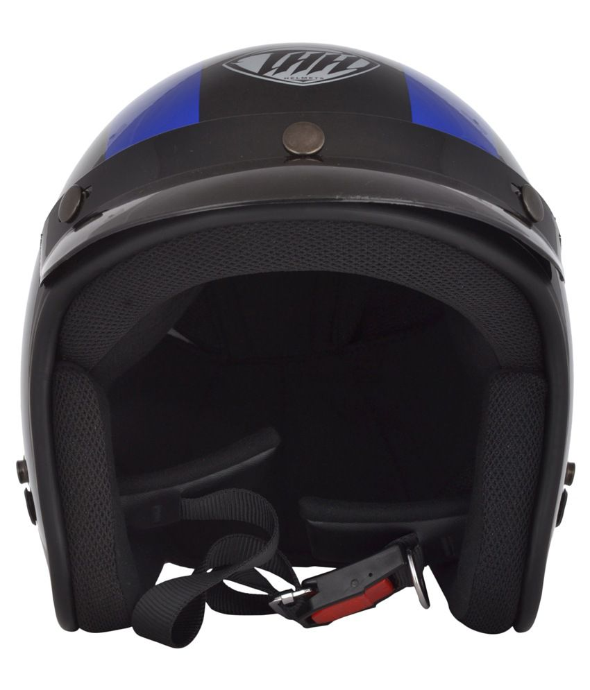 Thh Open Face Helmet - Black  available at snapdeal for Rs.1315