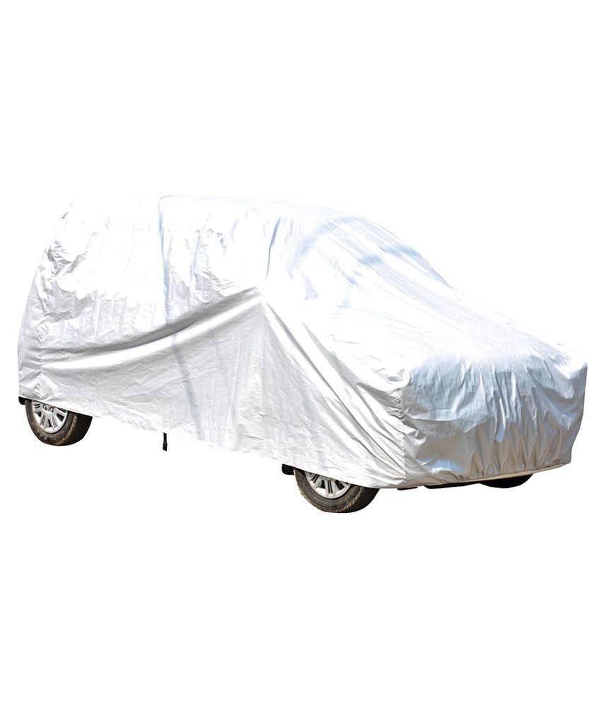 Deep Product White Imported Matty Car Body Cover For Hyundai I10  available at snapdeal for Rs.625