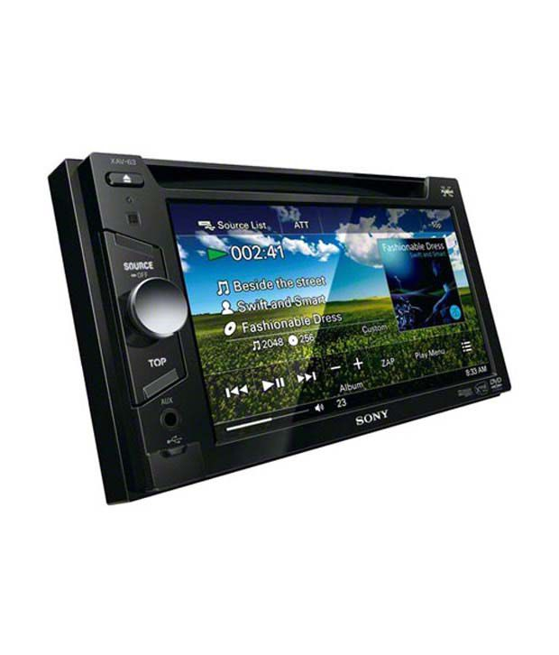 Sony - XAV 63 - Head Unit (With Free Installation)