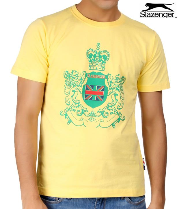 Slazenger Yellow T-Shirt (SWMT001)