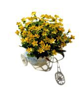 Everything Imported Milan Artificial Flowers Arrangement