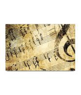 Bluegape Music Notes Poster