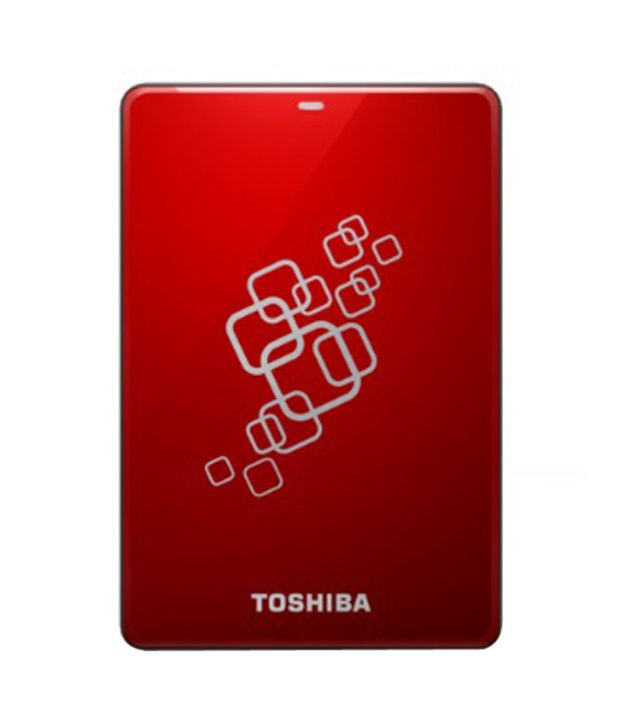 Toshiba Canvio V6 USB 3.0 with Software 1 TB Hard Disk (Red)  available at snapdeal for Rs.6375