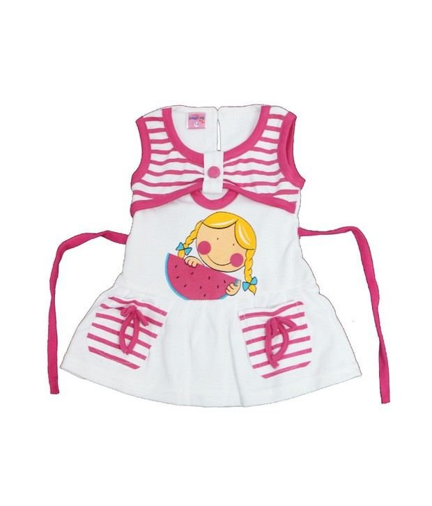 JAZZUP-Cotton pink Frock  available at snapdeal for Rs.185