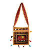 Rastogi Handicrafts Designer Rajasthani Multi Colour Sling Bag