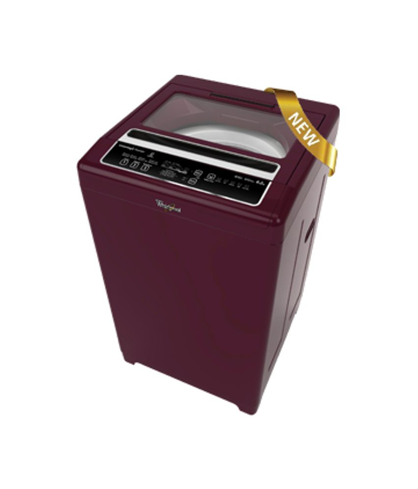 Whirlpool 6.2 Kg. Whitemagic Premier Fully Automatic Top Load Washing Machine Wine Chrome