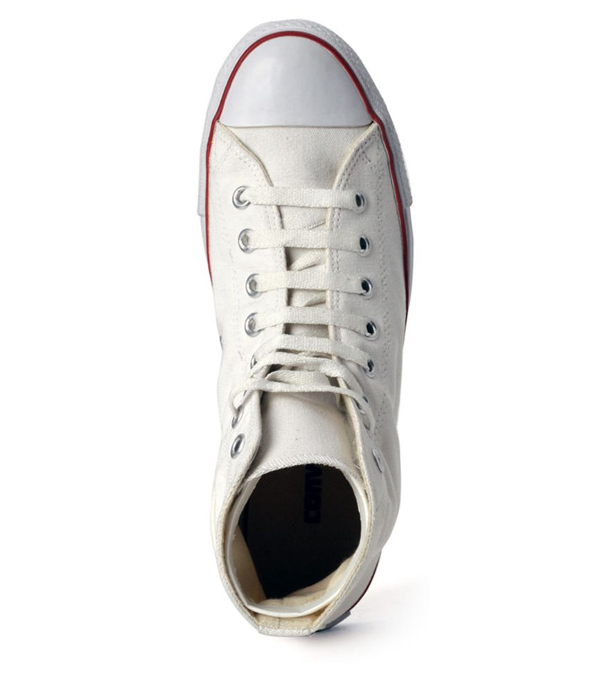 Converse shoes white black