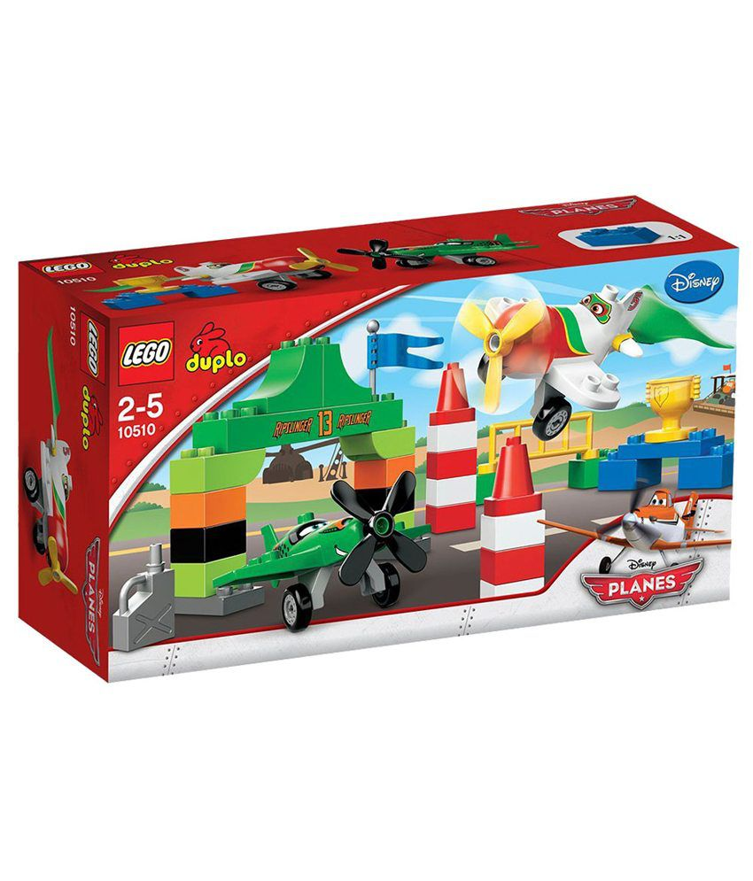 Lego Duplo 10510 Disney Planes Ripslinger's Air Race Activity Set  available at snapdeal for Rs.2999