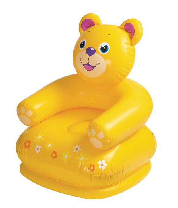 Intex Teddy Bear Inflatable Chair For Kids