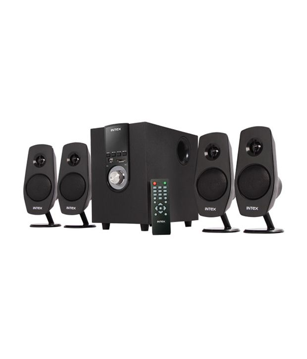 Intex Multimedia Speakers 2.1 Computer Speakersblack