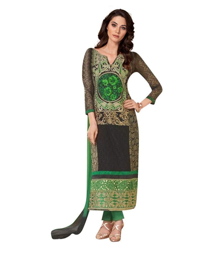 Marvel Marvel International Multicolor Printed Cotton Regular Fit Salwar Suit
