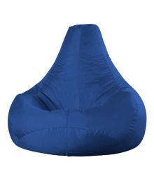 Repose Blue Bean Bag Cover