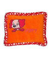 Radhey Beads MY FIRST PILLOW (ORANGE)