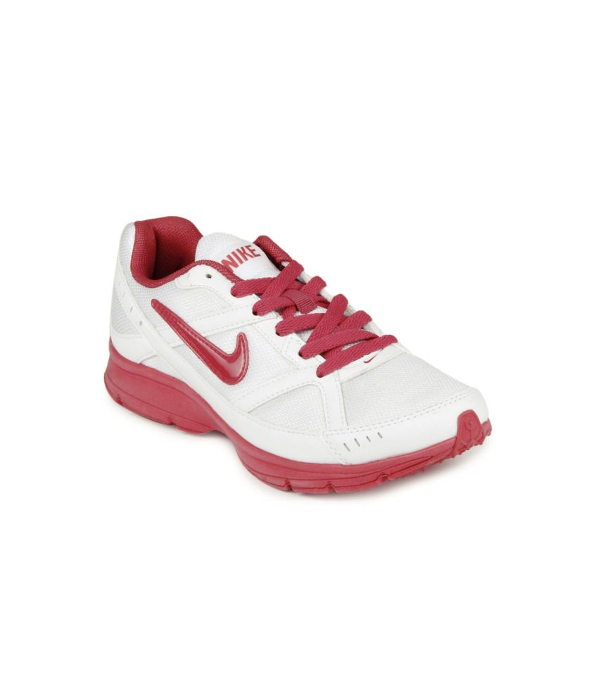 Nike Red Meshtextile Diffusion Running Sports Shoes  available at snapdeal for Rs.1995