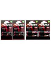 Tuscan 800 MAh AAA Battery With 1600 MAh AA Rechargeable Battery (4 Pack Of 8 Piece)