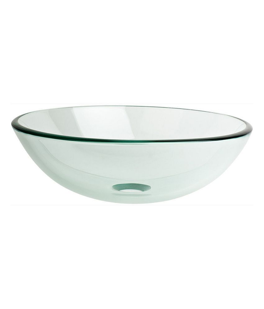 Sng Glass Bowl Wash Basin available at SnapDeal for Rs.2913