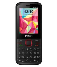 Intex FLIP X2 ( Below 256 MB Black )