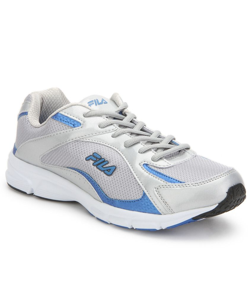 Fila Lamberto Silver Sports Shoes  available at snapdeal for Rs.1648