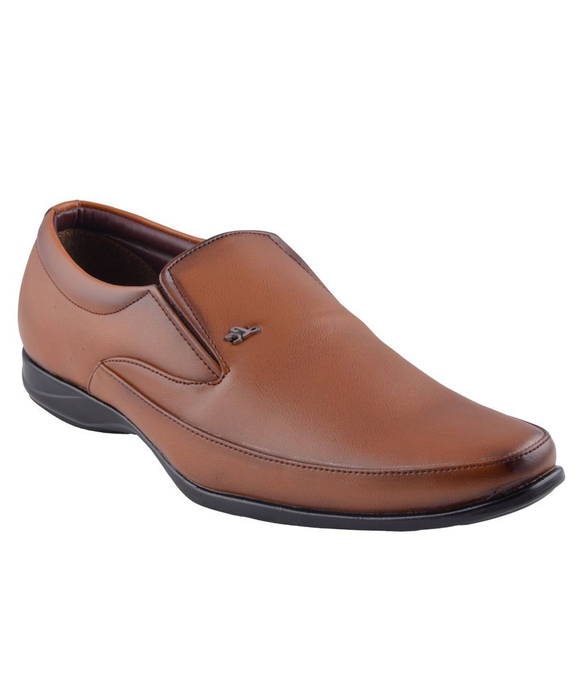 zone brown formal shoes available at snapdeal for rs 837