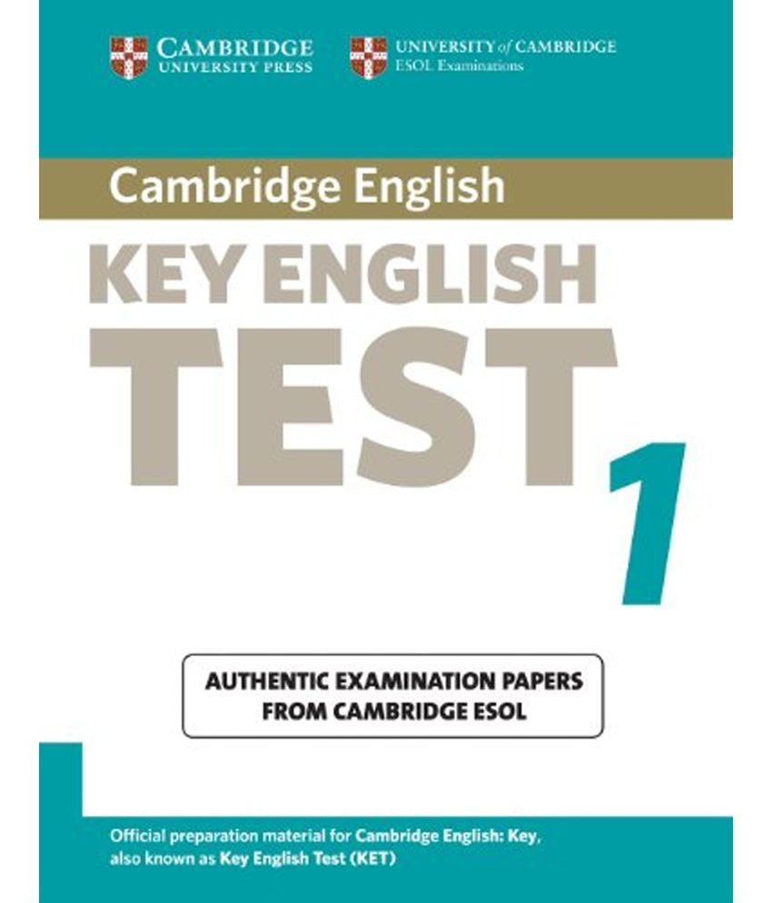 Cambridge Key English Test 1 Student Book  available at snapdeal for Rs.1507