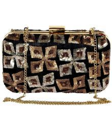 Bliing Multi Silk Clutch