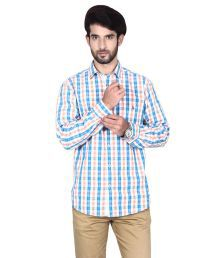 Brecken Paul Multi Casuals Regular Fit Shirts No