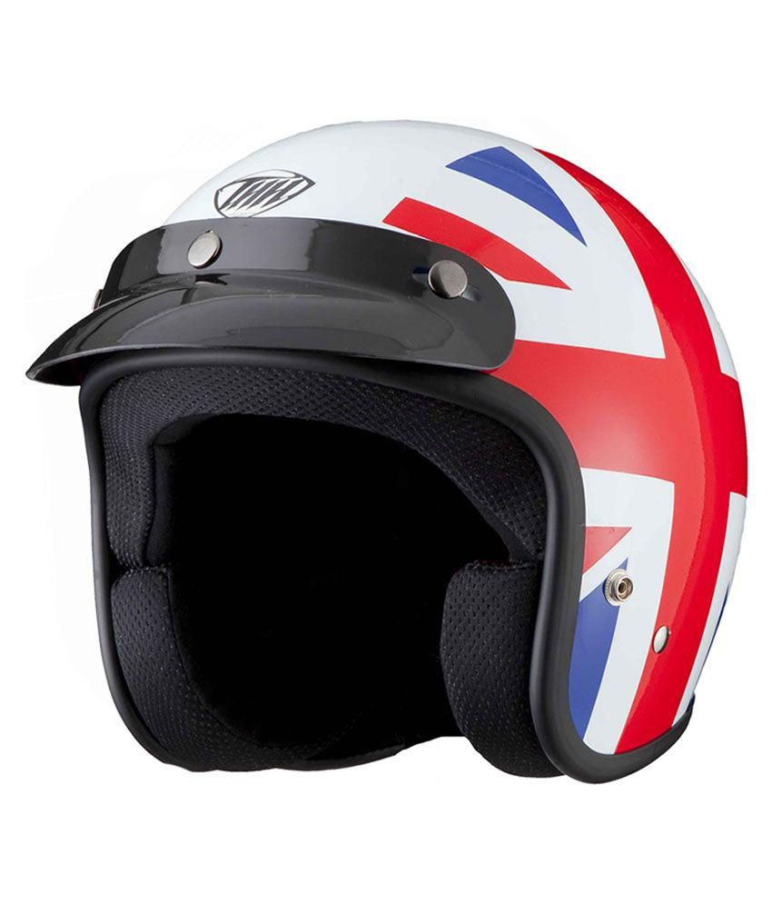Thh Multicolour Open Face Helmet  available at snapdeal for Rs.1377