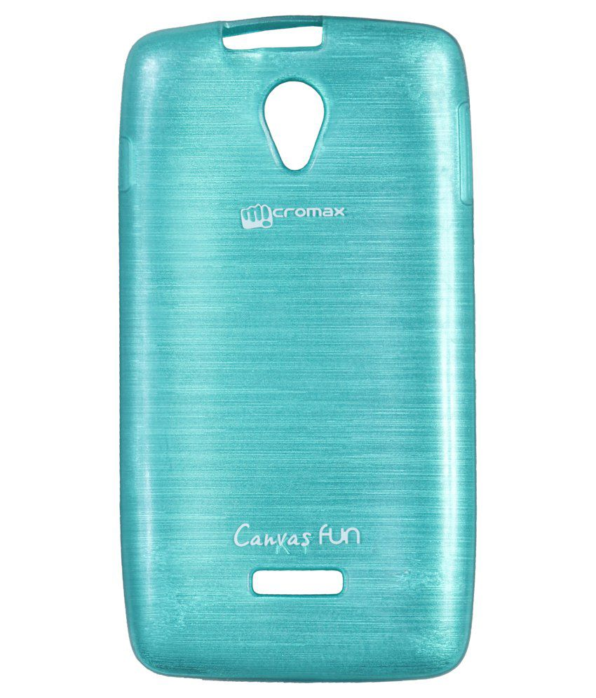 Iway Back Cover For Micromax Canvas Fun A76   Blue available at SnapDeal for Rs.180