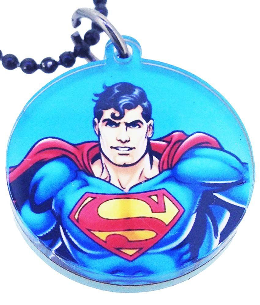 Warner Brothers Blue Stainless Steel Pendant Set  available at snapdeal for Rs.99