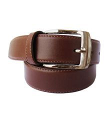 Lenin Brown Casual Single Belt For Men