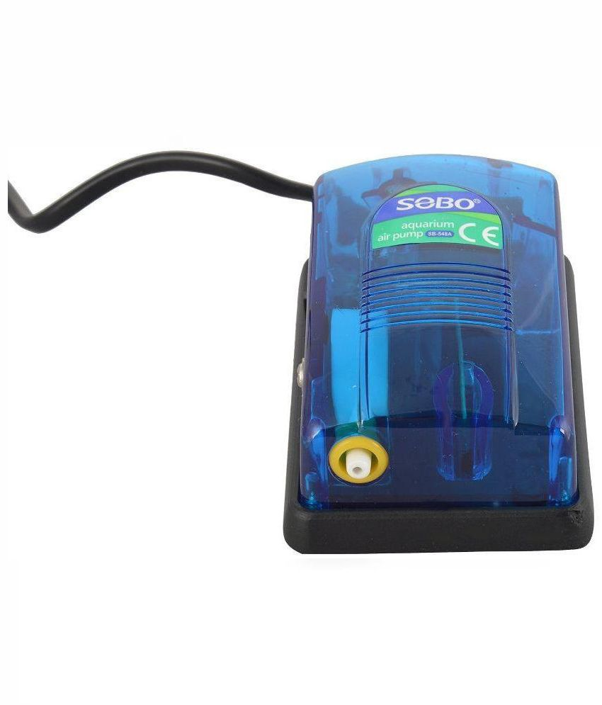 Fish aquarium india price - Image Of Offer On Fish Lovers Blue Sobo 548a Air Pump Price In India