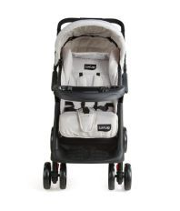 Luv Lap Baby Stroller Pram Sports Grey/Black - 18157