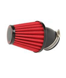 Capeshoppers Red Bike Air Filter For Honda Unicorn