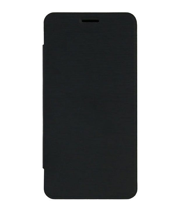 Muditmobi Flip For  Karbonn Smart A50   Black available at SnapDeal for Rs.219