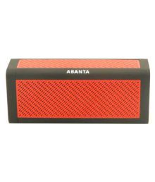 Abanta Bt 818 Bluetooth Speaker - Red