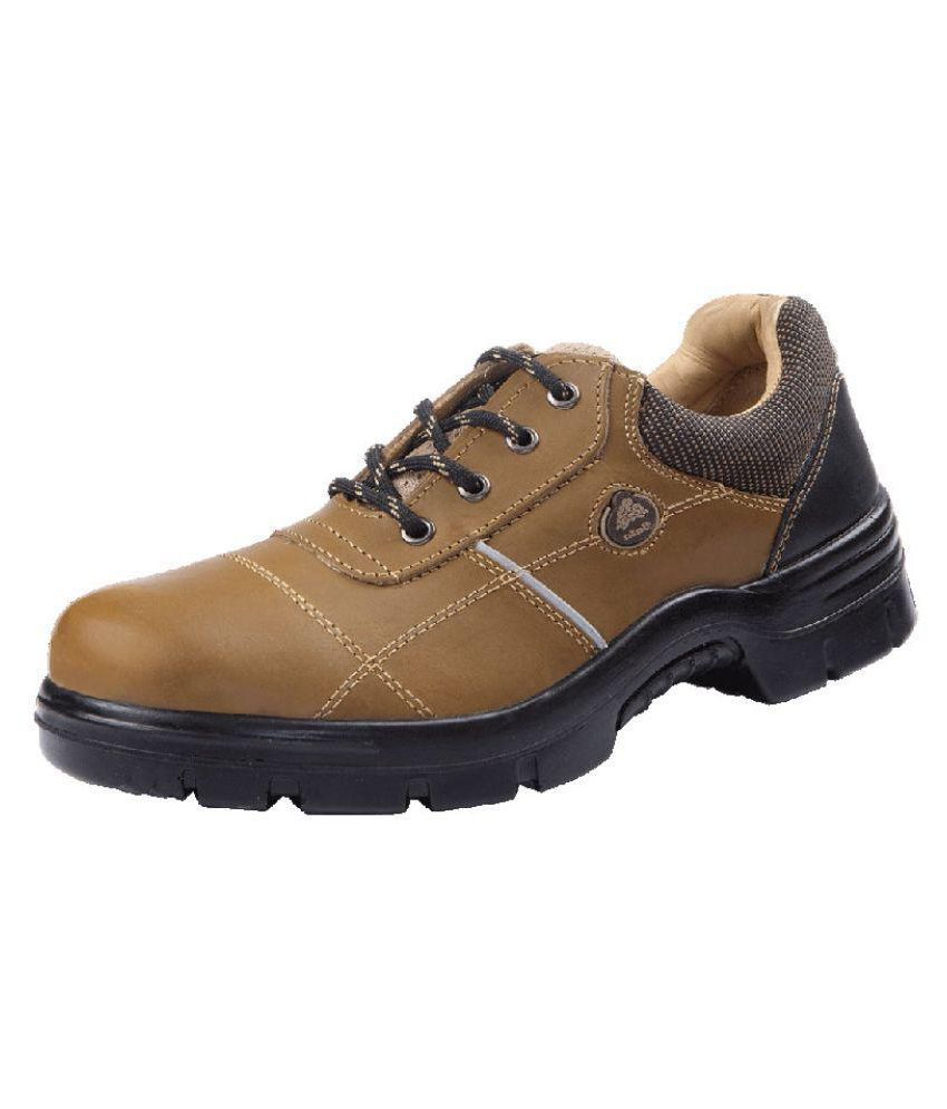 Bata Mid Ankle Brown Safety Shoes Available At SnapDeal For Rs.1755