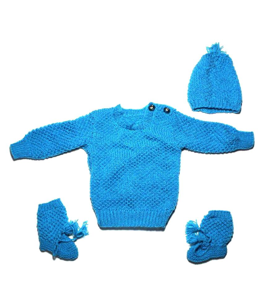 99dailydeals Blue Sweater Set