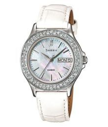 Casio Sx103 White Analog Watch