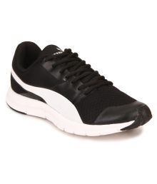 Puma Flexracer Dp Black Running Shoes