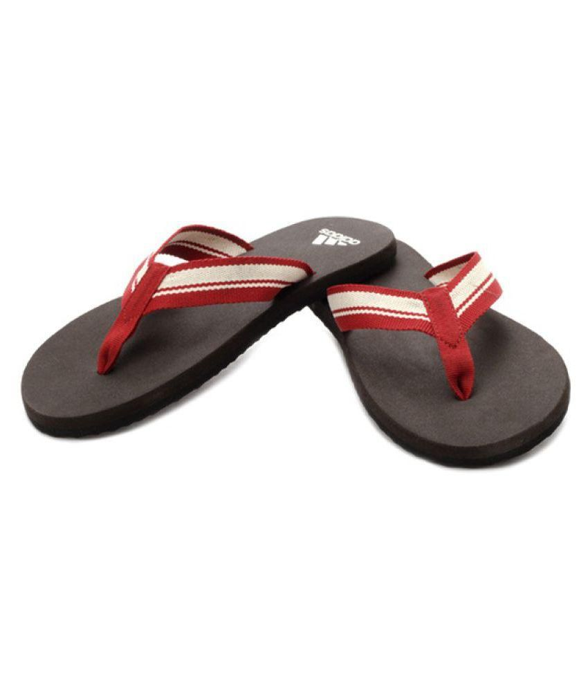adidas adidas brown flip flops brown daily snapdeal price. Black Bedroom Furniture Sets. Home Design Ideas