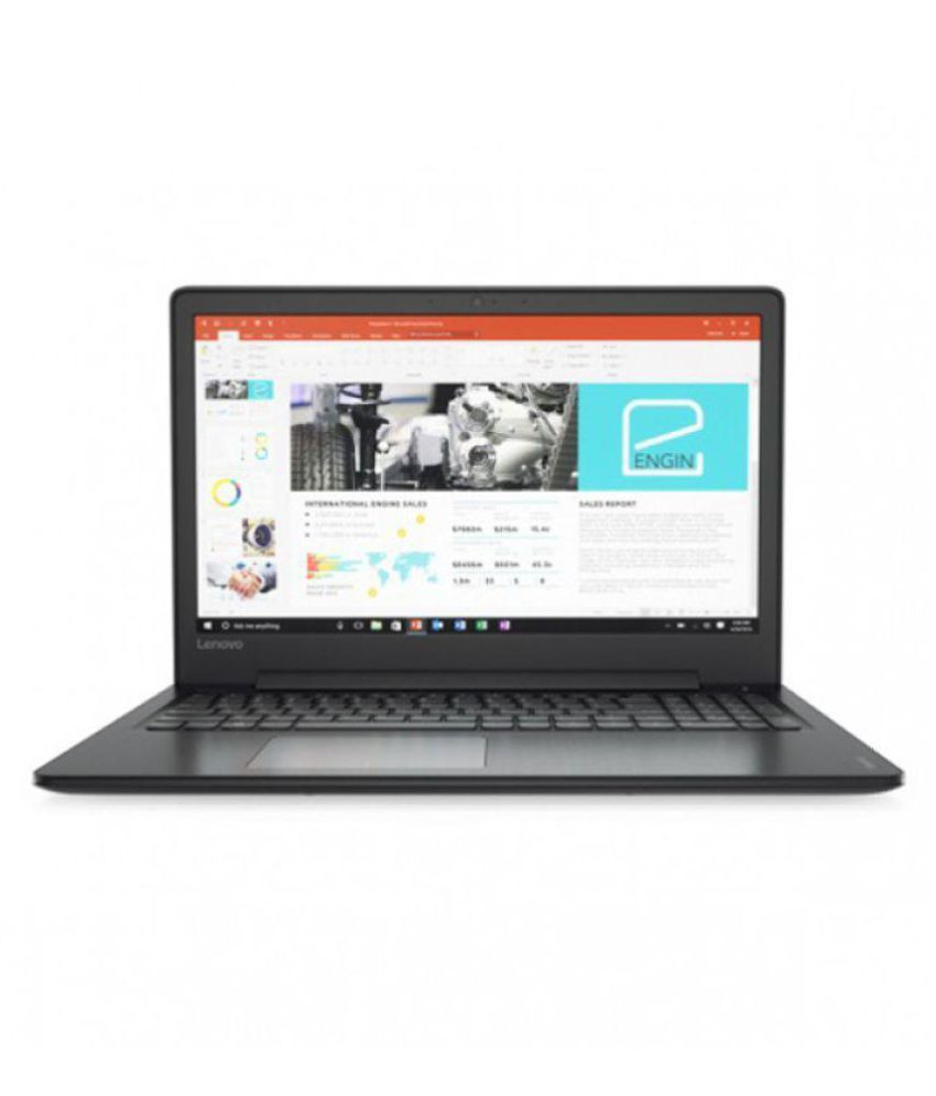 Lenovo Ideapad 80tv0070ih Notebook Core I5  7th Generation  4 Gb 39.62cm 15.6  Windows 10 Home 2 Gb Black available at SnapDeal for Rs.51500