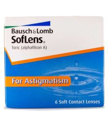 Bausch & Lomb Softlenses Toric Monthly Disposable Cylindrical Contact Lenses ( 0-50 )