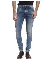 Jack & Jones Blue Skinny Jeans