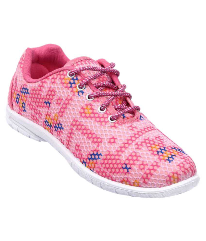Nexa Pink Lifestyle Shoes  available at snapdeal for Rs.295
