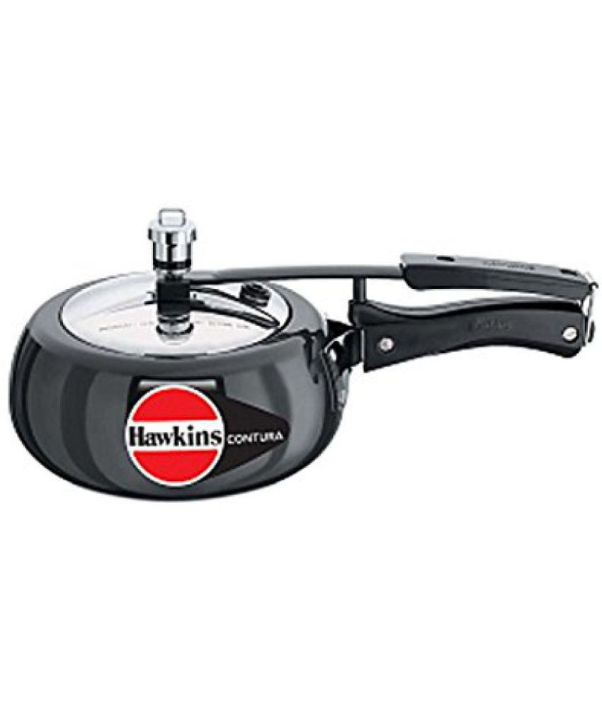Hawkins Cb15 Hard Anodised Pressure Cooker, 1.5-liter, Contura Black  available at snapdeal for Rs.1743