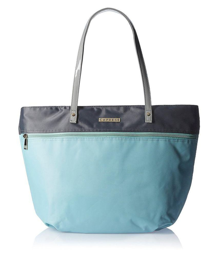 Caprese Blue Nylon Shoulder Bag  available at snapdeal for Rs.1234