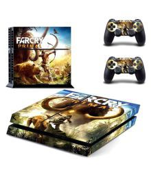 Elton Far Cry Primal 3m 2 Playstation Skins And 2 Controller Skins Combo